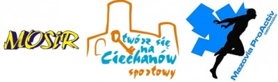 Ciechanowskie Święto Biegania - logo
