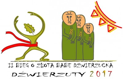 II Bieg o Złotą Babę Dźwierzucką - Biegowe Grand Prix Powiatu Szczycieńskiego - logo