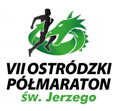 VII Ostródzki Półmaraton św. Jerzego - logo