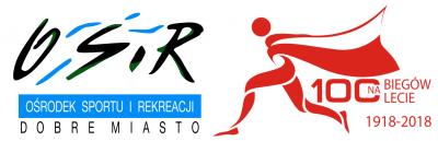 Bieg 100-lecia 'Od Bałtyku do Tatr' - 7 Dobromiejski Bieg Niepodległości - logo