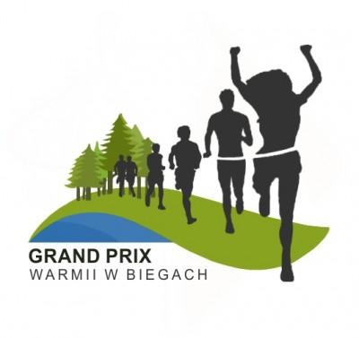 V Grand Prix Warmii - VII Biegiem po Wichrowskich Lasach - logo