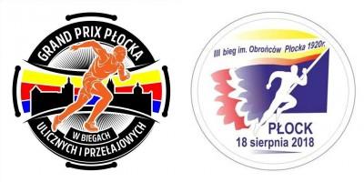 III Bieg Uliczny Obrońców Płocka 1920 roku - Grand Prix Płocka - logo