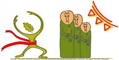IV Bieg o Złotą Babę Dźwierzucką - Biegowe Grand Prix Powiatu Szczycieńskiego - logo