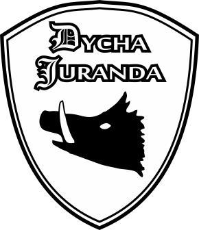 II Dycha Juranda - Biegowe Grand Prix Powiatu Szczycieńskiego - logo