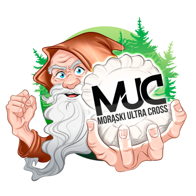 "Morąski Ultra Cross ""MUC"" 2020 - logo"