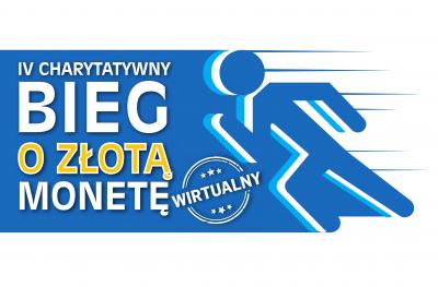 Wirtualny IV Charytatywny Bieg o Złotą Monetę - logo