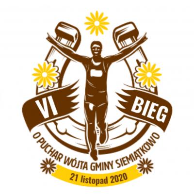 VI Bieg Uliczny o Puchar Wójta Gminy Siemiątkowo - logo