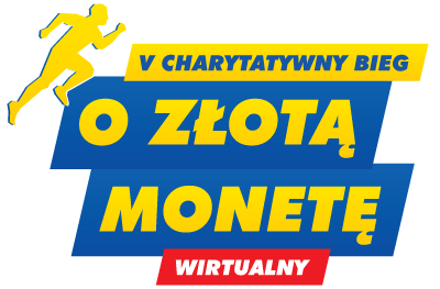 Wirtualny V Charytatywny Bieg o Złotą Monetę - logo
